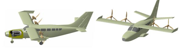 Micor Technologies | USTOL Front Fixed Wings